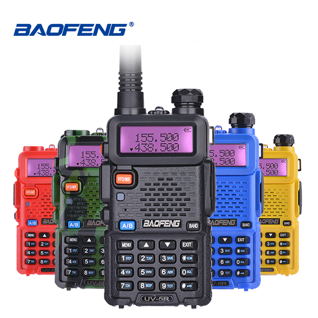 Baofeng UV 5R Walkie Talkie UHF VHF Jagd Radio Baofeng UV 5R Ham Radio Station Handheld Cb Radio Comunicador Transceiver UV5R