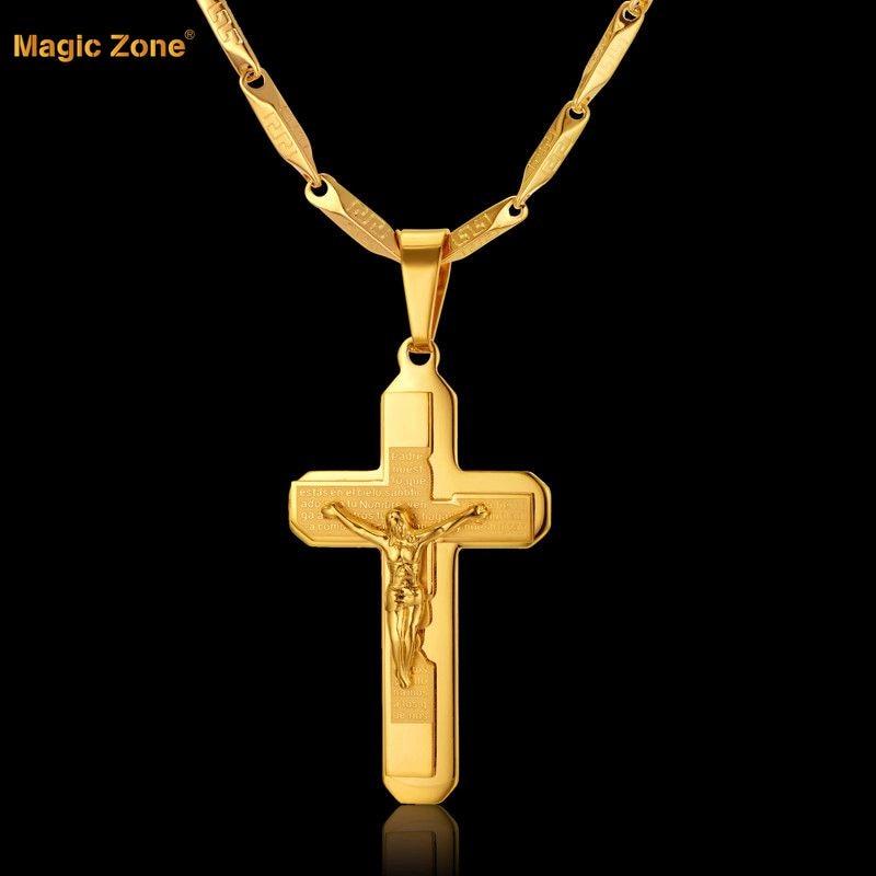 2Usage Gold Chain Creative Male Necklace Men Jewelry Birthdas