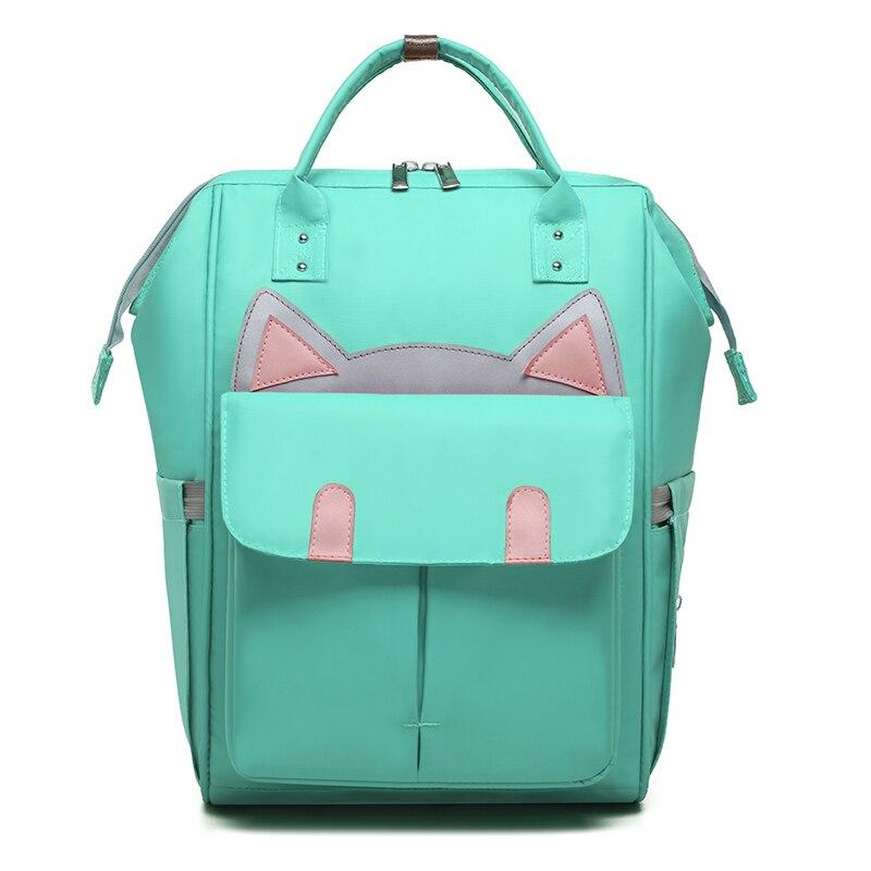 Grand sac à langer maman sac de voyage sac de voyage bébé imperméable et anti-taches sac à bandoulière mode femmes enceintes B