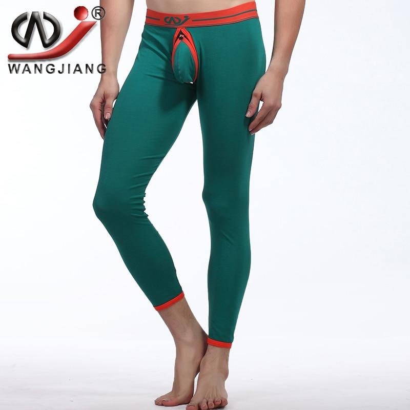 Aliexpress.com : Buy Sexy Long Johns Wangjiang Men Spandex ...