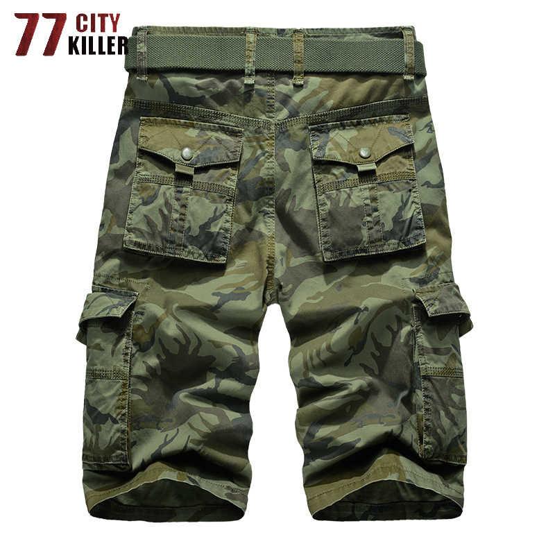 77 город Killer Flag флаг мужские шорты Карго брендовые летние военные мужские Шорты Верхняя одежда дышащие мужские шорты мужские Размер 29-40