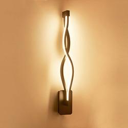Nowy projekt czarny/biały LED kinkiety salon sypialnia LED kryty kinkiet nowoczesny dom oświetlenie do montażu na ścianie lamparas