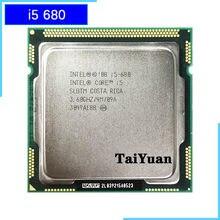 Intel Core i5-680 i5 680 3.6 GHz çift çekirdekli CPU İşlemci 4M için 73W LGA 1156