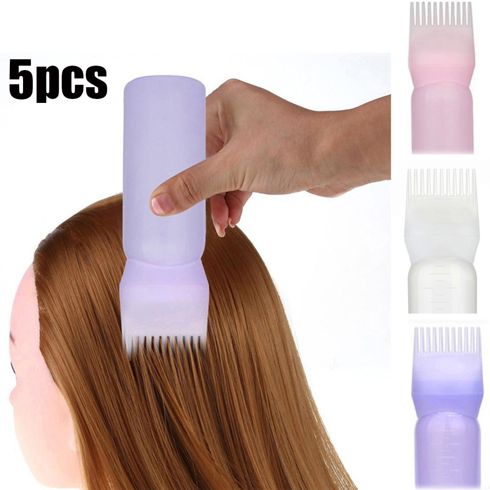 Hair Dye Bottle Shampoo Soft Bottle Hot Applicator Brush Dispensing Salon Hair Coloring Dyeing Washing Tools Dry Pot Bottles #40