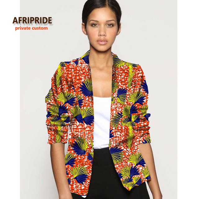 2017 Afrcian Clothes For Women Fashion Jacket New Pattern