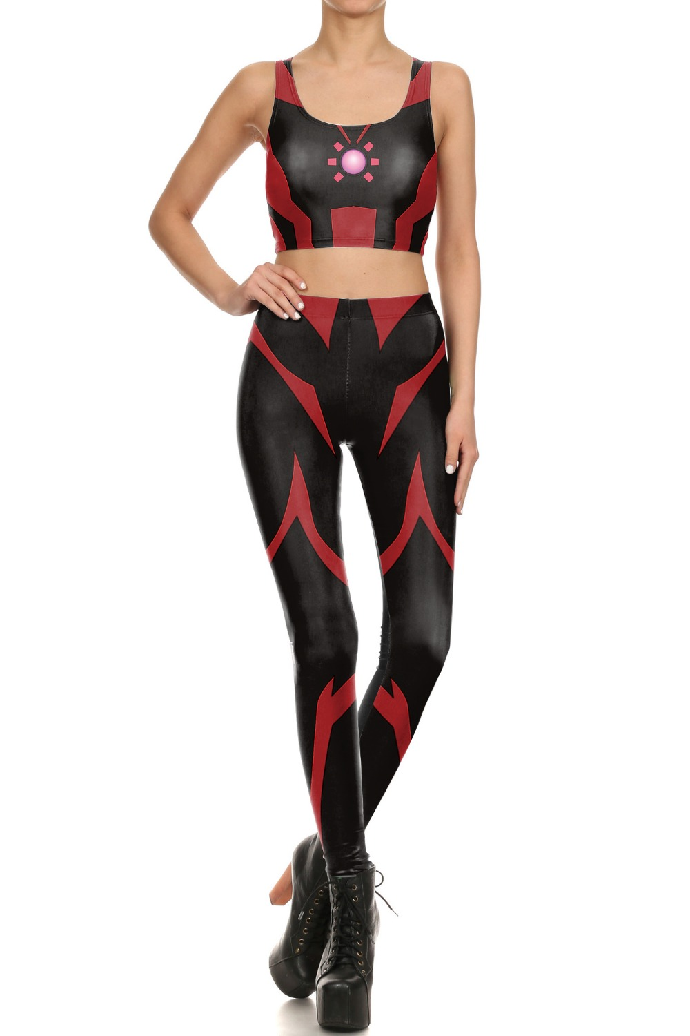 red and black striped leggings - Popular Red And Black Striped Leggings-Buy Cheap Red And Black