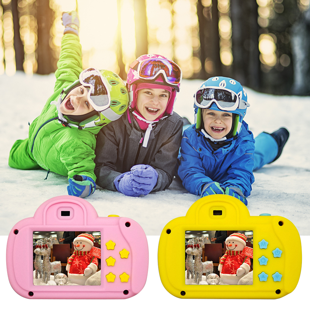 New 1.8 Inch Screen Cloud HD Children's Digital Mini Camera Child Baby Gift Gift Camera Toys Outdoor Photography Props For Kids