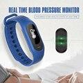 Os recém-chegados b15p saúde pressão arterial rastreador monitor de freqüência cardíaca pedômetro smart watch desgaste à prova d' água pulseira de saúde inteligente