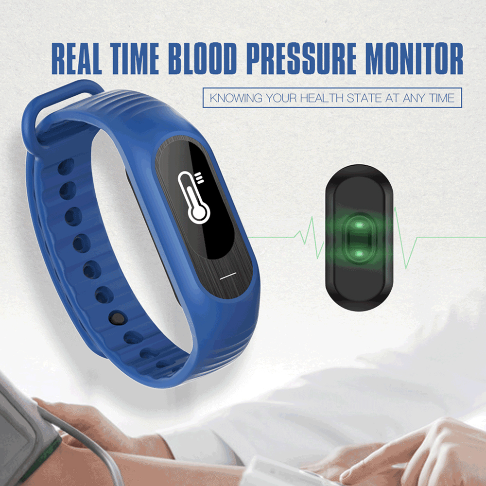 new arrivals B15P health Blood Pressure Tracker Heart Rate Monitor Pedometer smart watch waterproof wear smart