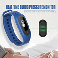 new arrivals B15P health Blood Pressure Tracker Heart Rate Monitor Pedometer smart watch waterproof wear smart health wristband