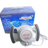 Electric Full Body Therapy Massager Health Beauty Spa Tool with 3 Vibrating Cell Massage Heads Roller 220V Powerful