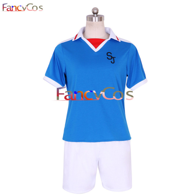Halloween Inazuma Eleven Japanese Eleven Team Summer Football Boys Trikot  Cosplay Costume High Quality Adult Party
