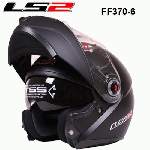 New helmet LS2 ff370 motocross helmet motorcycle LS2 helmet double lens ff370 latest version have bag 100% Genuine