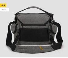 F16727 A1242 Professional Canvas SLR Outdoor Aslant Digital Camera Bag M Size 34*22*25cm