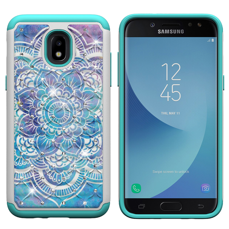 US $4 46 5% OFF|Bling Glitter Case for Samsung Galaxy J3 2018 J337 Phone  Cover Eclipse 2 SM J337V SM J337T SM J337P SM J337A Bumper Armor Cover-in
