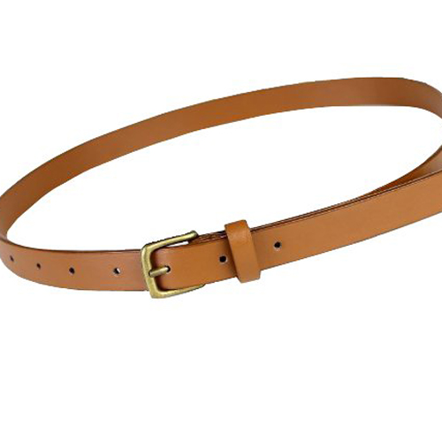 HOT Girls Ladies Skinny Slim Narrow Belt Dress Belt - Tan ...