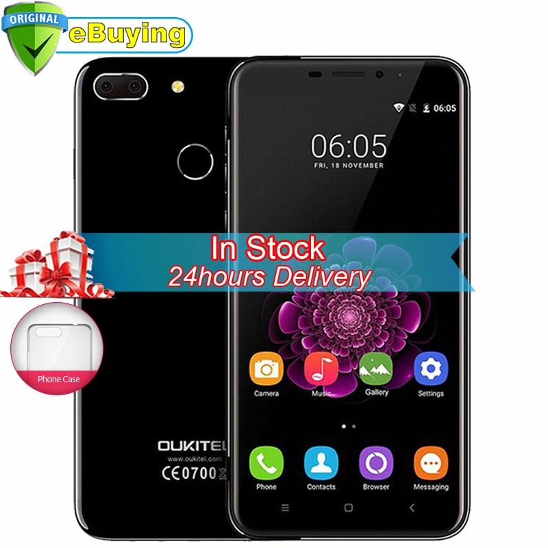 bilder für Auf Lager Oukitel U20 Plus Handy Android 6.0 MTK6737T quad-Core-Handy 5,5 zoll Bildschirm 2 GB RAM 16 GB ROM 4G Smartphone