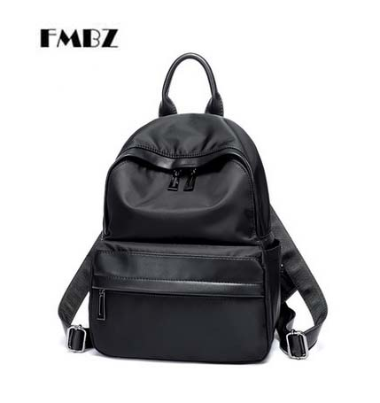 FMBZ Fashion Woman Backpack 2018 New Student Backpack Waterproof Oxford Backpack Free Shipping free shipping new 2017 fashion pu white black with rose butterfly pattern student backpack cheap backpacks bb033