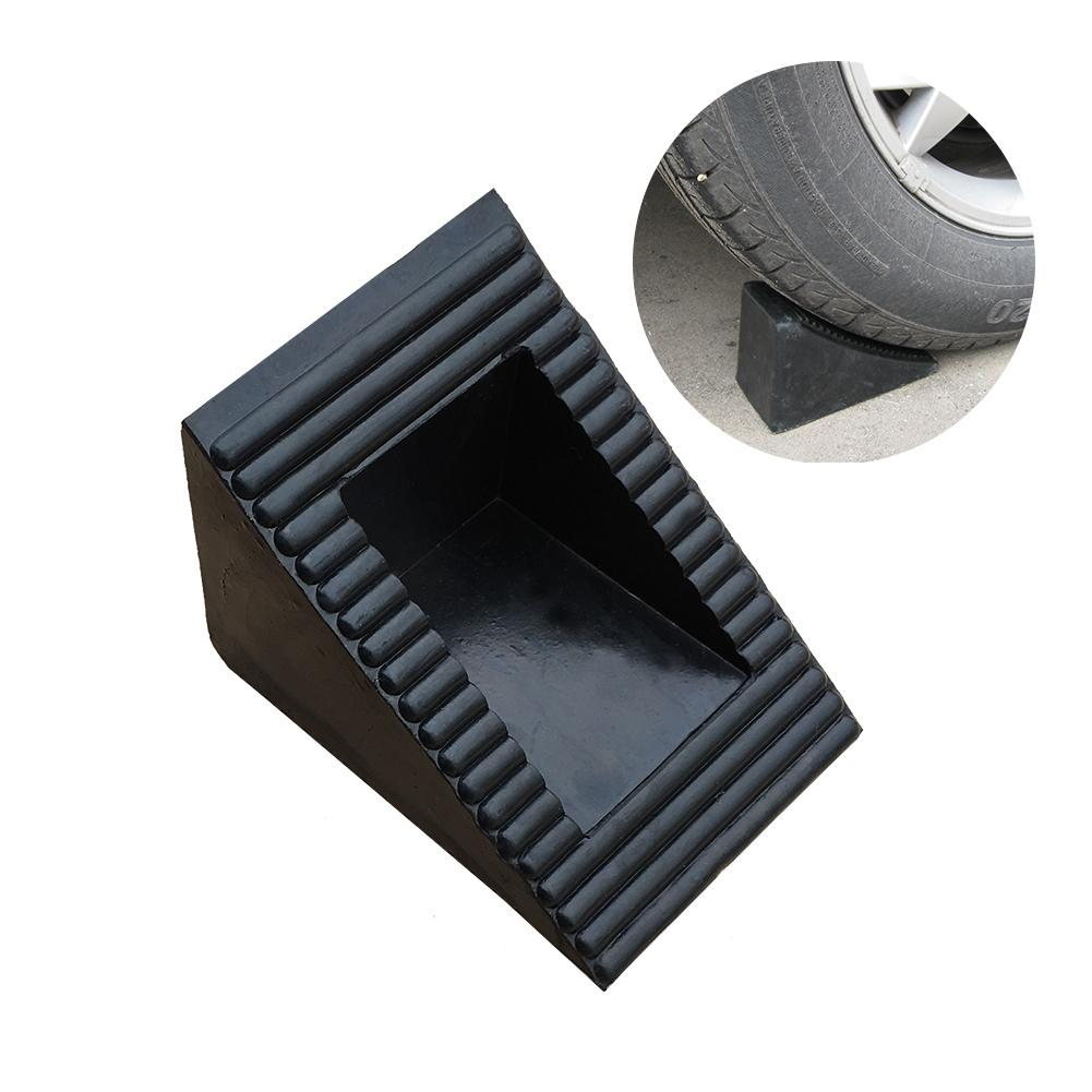 Small Corner Blocks Rubber Wheel Chock Retainer Car Stoppers Reverse Pad Slope Chock Suitable For All VehicleSmall Corner Blocks Rubber Wheel Chock Retainer Car Stoppers Reverse Pad Slope Chock Suitable For All Vehicle