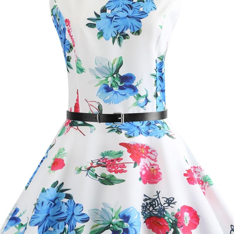 Blue Vintage Swing Dress 14