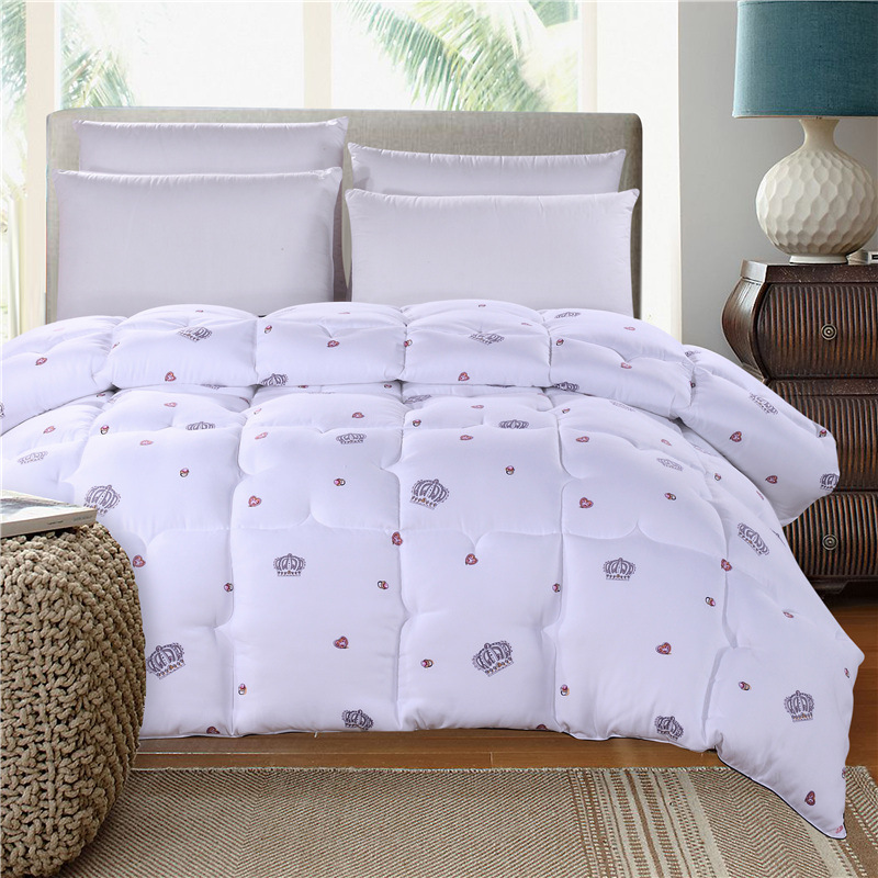 cotton fabric filled with polyester warm silky winter three colors comforter twin queen full. Black Bedroom Furniture Sets. Home Design Ideas