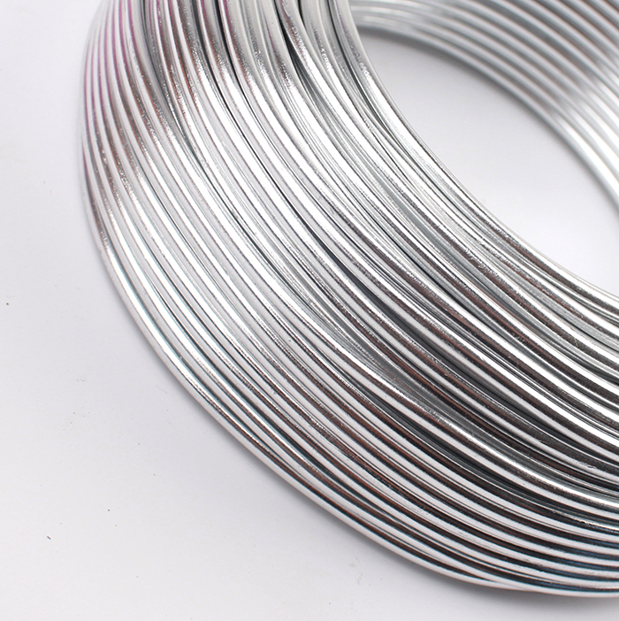 Großhandel 0,5 kg Eloxiert Aluminium DIY Handwerk Draht 2,5mm Rund ...