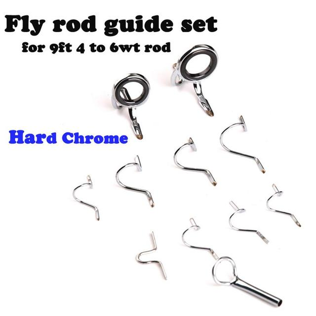 Maximumcatch fly fishing rod guide tip repair kit set diy for Fishing rod eye repair kit