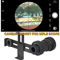 New Tactical Black Rile Scope Mount For Camera For Hunting Shooting Hunting Accessory HS33 0202
