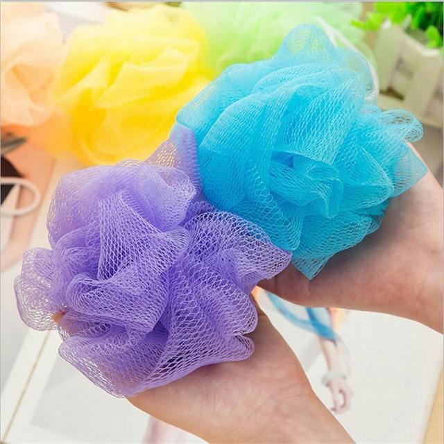 5Pcs/Lot Body Wash Bath Ball Large Bath Sponge Body Cleaning Mesh Flower Bath Towel Scrubber Wash Body Tool Accessory 1
