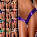 2016 new hot sale V shape sexy brazilian bikini bottom women swimwear swimsuit trunk tanga micro briefs Panties Underwear