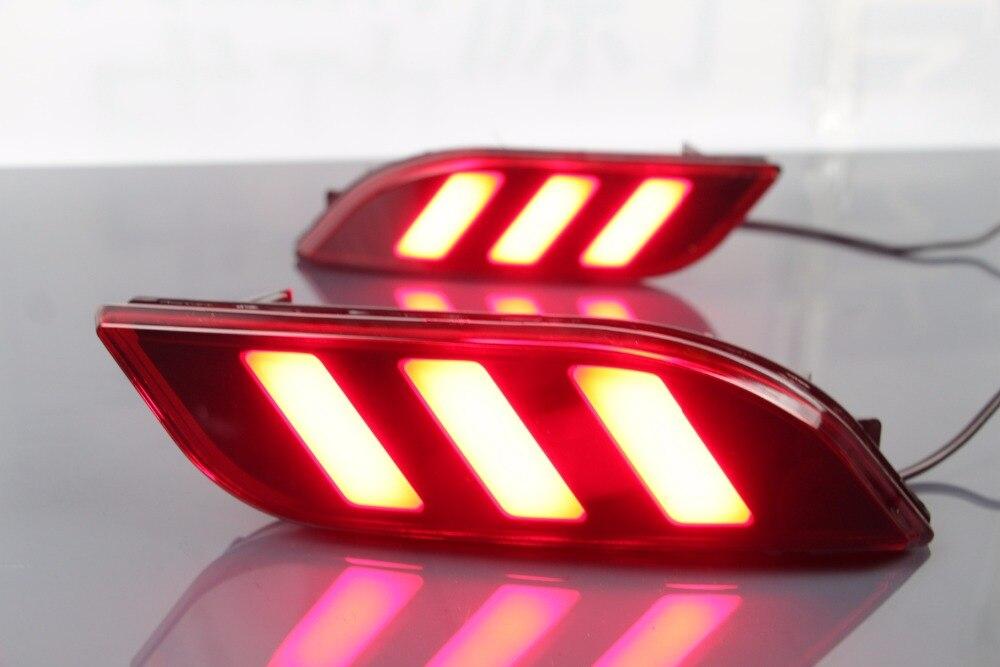 eOsuns led rear bumper light for Jeep compass 2017 2018, driving lamp + brake light, 2 functions warning light eosuns led rear bumper light for for toyota vellfire 2016 2018 driving lamp brake light 2 functions warning light