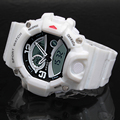 Epozz Top Quality Fashion Men's digital Sports G Style LED electronic watch Waterproof 50m Rubber Strap  reloje Relogio