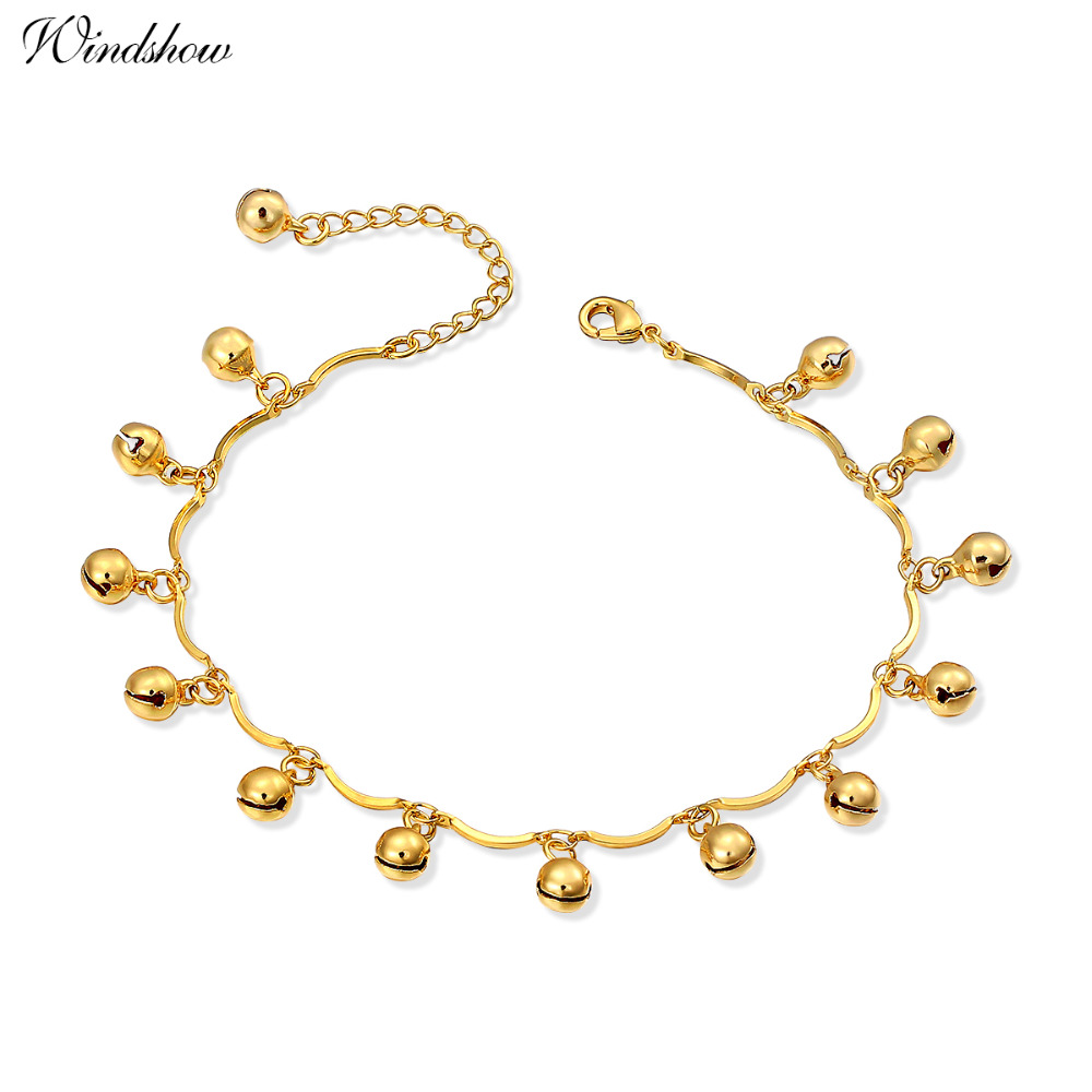 yellow gold crown products int anklet js heart