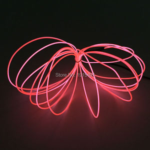 2017 5Meters DC-5V USB Flexible EL Wire LED Strip waterproof Neon Light Glowing Toys With Holiday Decoration