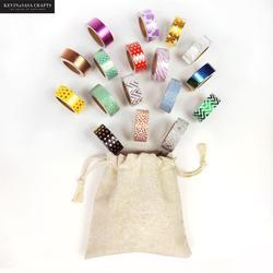 15/30 pçs washi conjunto de fita folha e brilho cor japonês papelaria kawaii scrapbooking papel escola ferramentas fitas decorativas máscara