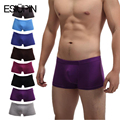 ESIUPIN Hot sale Brand sexy hombres ropa interior de algodón 7 UNIDS lot cueca boxeadores de la ropa interior de los hombres machos varones calzoncillos cortos YP7