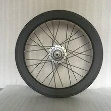 СЕМА T700 16 дюймов 349 оправа углерода с stumery 5 скорость SRF5 hub 2320 г колесная довод оправы углерода велоспорт колеса велосипеда части