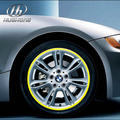 "Car wheel hub sticker Rim strip tire reflective paster Exterior gloss styling decoration products accessory part 13""-17"""