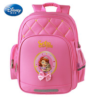 Disney Princess comfortable and breathable children's backpack to protect the spine large capacity burden reduction bag
