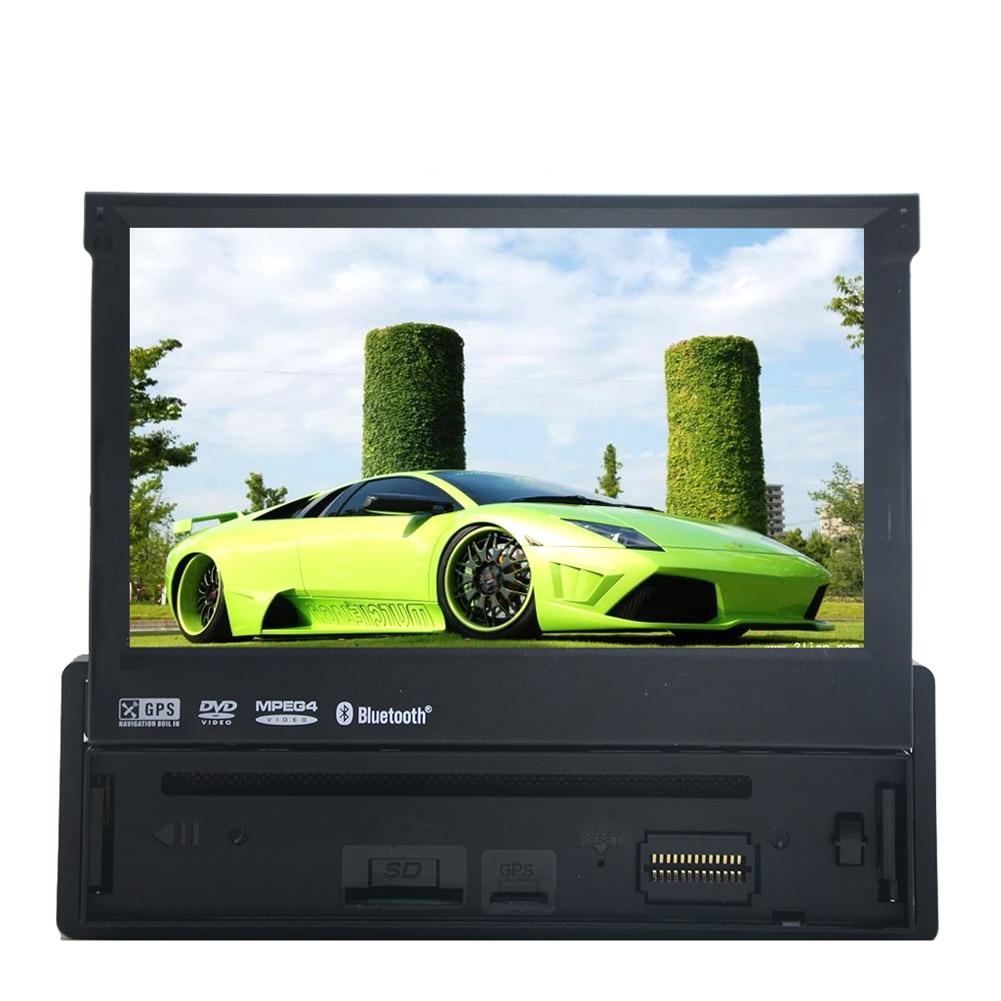 Sistema de Navegación Bluetooth MP4 Película GPS Auto Estéreo Reproductor de DVD