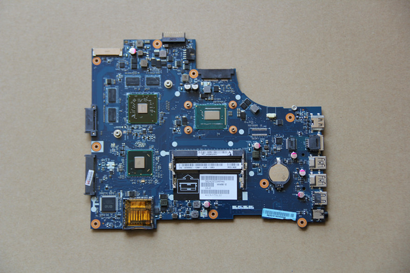 For DELL Inspiron 15 5521 Laptop motherboard VAW01 LA 9101P with I5 3317U CPU and 216 0842009 GPU Onboard HM76 DDR3 fully tested