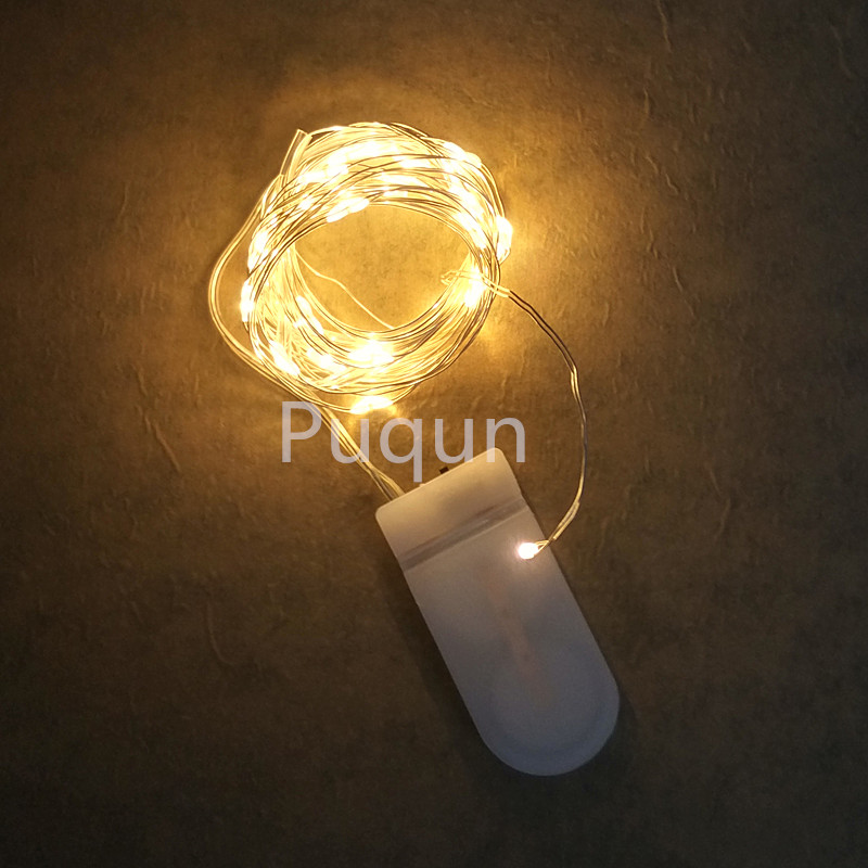 Aliexpress.com : Buy 10pcs/lot CR2032 Cell Battery Operated 2m 20LED LED String Light Waterproof ...