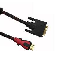High Speed HDMI Cable Gold Plated Connection HDMI To DVI Cable 1 5m 2m 3m 5m