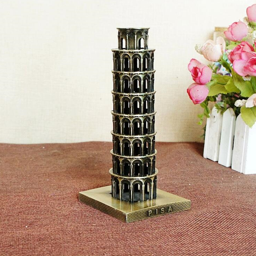 italy leaning tower of pisa arts and crafts metal crafts. Black Bedroom Furniture Sets. Home Design Ideas
