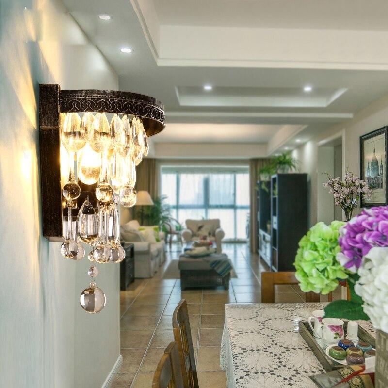 Հյուրասենյակ Մեծ կաթիլ բյուրեղապակ - Ներքին լուսավորություն - Լուսանկար 4