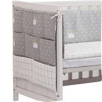 Baby Bed Cot Crib Articles Organizer Toys Bottles Diaper Pockets for Newborns Crib Bedding Set 50*60cm Crib Hanging Storage Bag