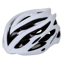 KINGBIKE kolarstwo kask mężczyźni kobiety szosowe kask z wizjerem L-629 mtb kask fahrradhelm cascos ciclismo carretera rozmiar M-L-XL tanie tanio (Dorośli) mężczyzn L-629F 235g-245g 20 Formowane integralnie kask mtb helmet fahrradhelm cascos ciclismo carretera
