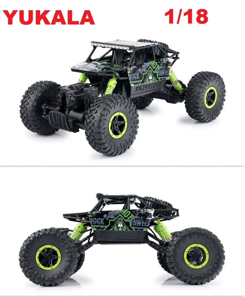 RC Car 2.4G 4CH 4WD Rock Crawlers 4x4 Driving Car Double Motors Drive Bigfoot Car Remote Control Car Model Off-Road Vehicle Toy цены онлайн