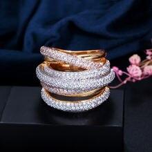 Женское прозрачное кольцо bilincolor белое для вечеринки