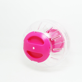 12cm Diameter Fun Running Ball Plastic Grounder Jogging Hamster Pet Small Exercise Toy 1
